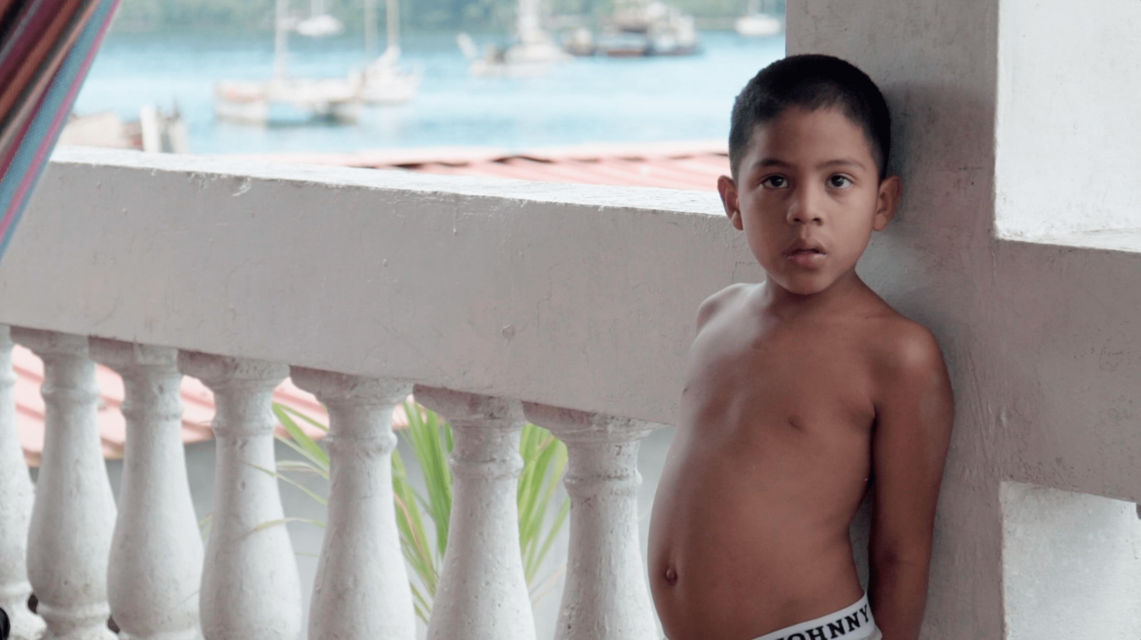 Portobelo Child - Cristo Negro